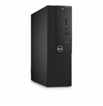 Dell Optiplex 3050 SFF Intel Core i3-6100 / 4Gb / 500Gb 7.2k / Intel HD 530 / DVD-RW / LAN / TPM / VGA / Keyboard+mouse (USB) / Linux / 1Y NBD (3050-0405)