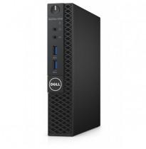 Dell Optiplex 3050 Micro Intel Pentium G4400T / 4Gb / 500Gb 7.2k / Intel HD 510 / no DVD / LAN / TPM / Keyboard+mouse (USB) / Windows 7 Professional x64 + WIn10 Pro Licence / 1Y NBD (3050-0504)