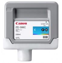 6658B001 Картридж Canon PFI-306C (cyan) 330 мл