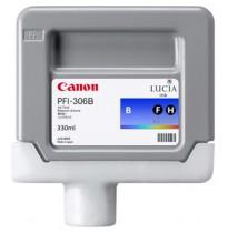 6665B001 Картридж Canon PFI-306B (blue) 330 мл