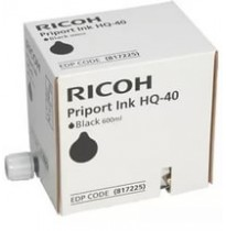 817225 Чернила для дупликатора Ricoh RICOH PRIPORT BLACK INK HQ40