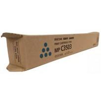 841820 Тонер-картридж для Ricoh MP C3003, C3003SP, C3003ZSP, C3503, C3503SP, C3503ZSP (MP C3503) (голубой)