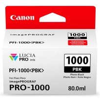 Картридж Canon PFI-1000PBK (photo black) 80 мл 0546C001