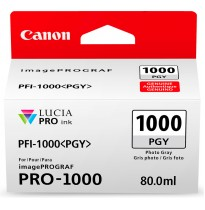 Картридж Canon PFI-1000PGY (photo gray) 80 мл 0553C001
