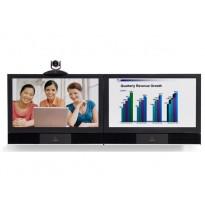 """Polycom HDX Media Center 8000-1080 2WC50 система видеоконференцсвязи с 2 плазменными экранами 50"""""""