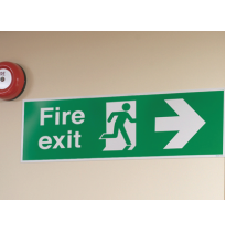 Знаки обозначения выхода