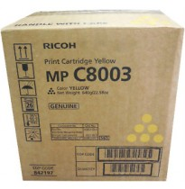 842193 Тонер-картридж Ricoh Print Cartridge MP C8003 yellow 28000 стр.