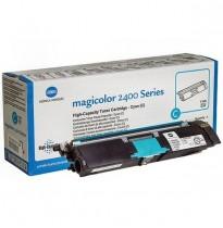 A00W332/1710589-007 Тонер синий (Cyan) для принтера Konica Minolta magicolor 2500W/2530DL/2550