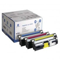A00W012/1710595-001 Набор из трех картриджей: Cyan, Magenta, Yellow (Value Kit) для принтера Konica Minolta magicolor 2500W/2530DL/2550