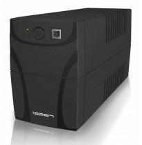 Источник бесперебойного питания Ippon Back Power Pro 600 New 360Вт 600ВА черный