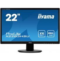 "Монитор Iiyama 22"" ProLite X2283HSU-B1DP"