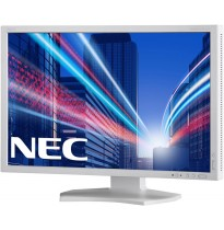 "Монитор NEC 24"" MultiSync PA242W-SV2 Silver/White"